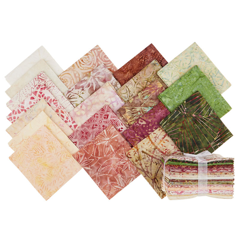 Tonga Treats Batiks - Posey Fat Quarter Bundle