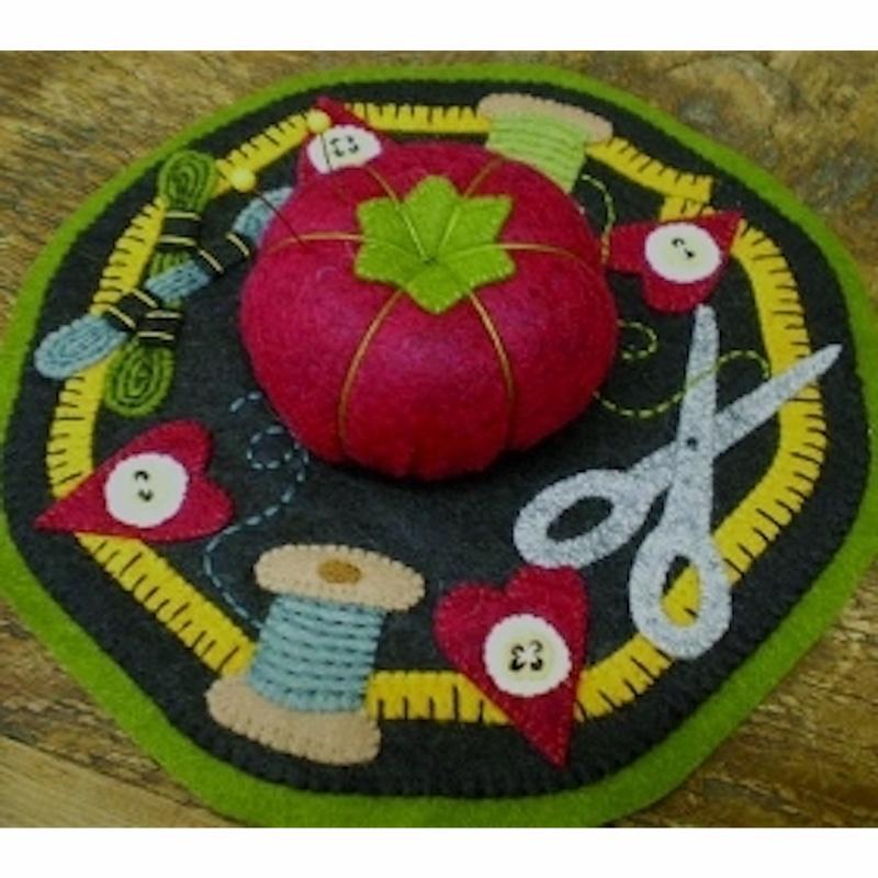 Sewing Pin Cushion Mat Kit