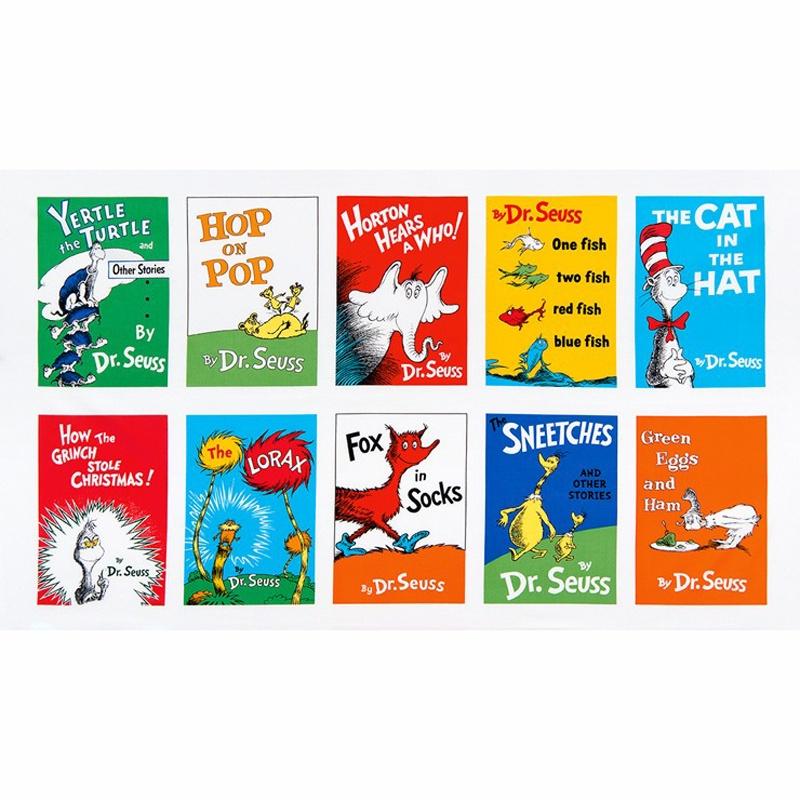Perfect Celebrate Seuss! - Book Cover Adventure Panel - Dr. Seuss - Robert  CI15