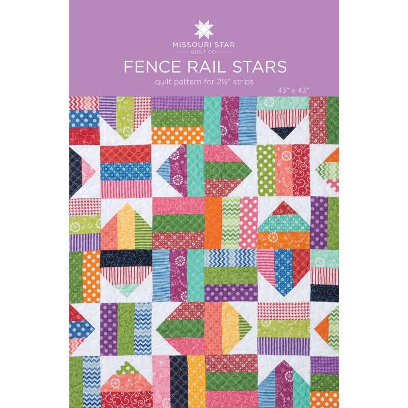 MSQC Tutorial - Fence Rail Star Quilt : fence rail quilt pattern instructions - Adamdwight.com