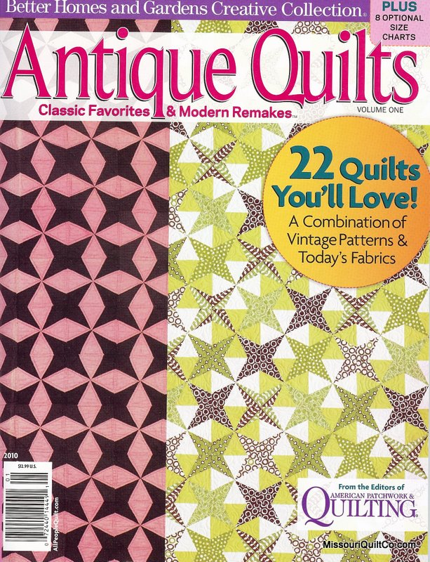Antique Quilts - Volume One - From Better Homes and Gardens Creative Collection