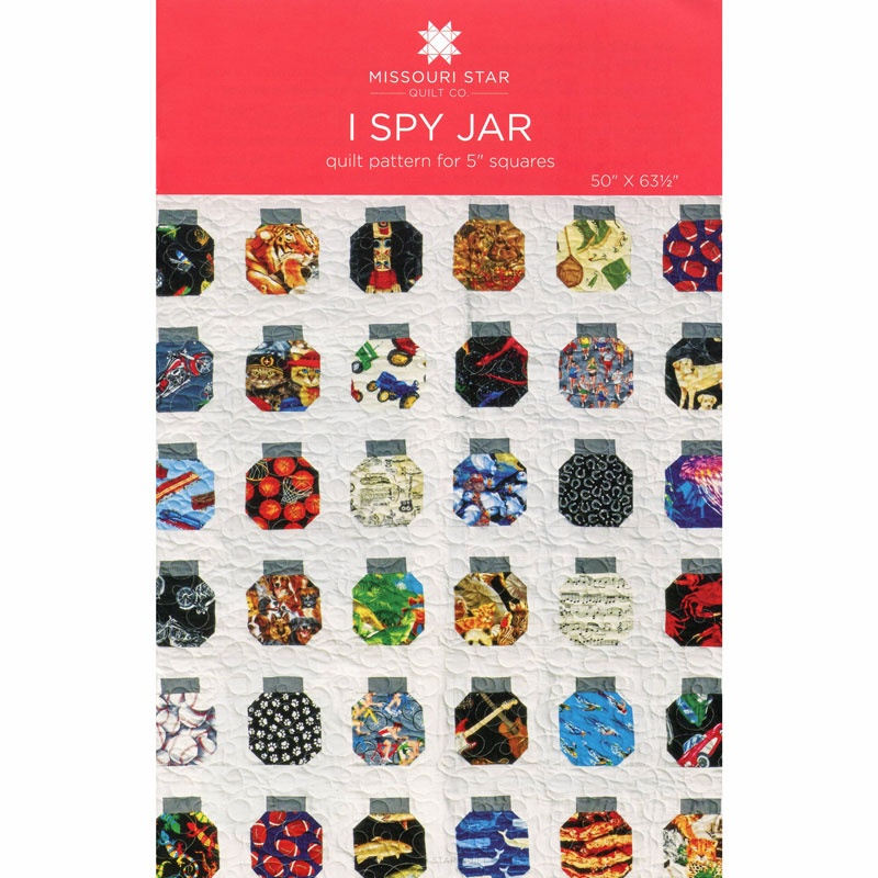 I Spy Jar Quilt Pattern By Missouri Star Missouri Star Quilt Co