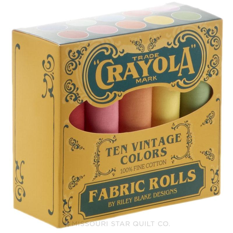 Confetti Cottons Vintage Crayola Solid Color Fat Quarter