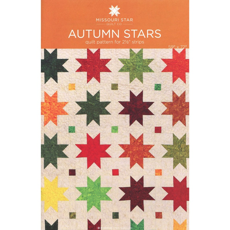 Autumn Stars Quilt Pattern By Msqc Msqc Msqc