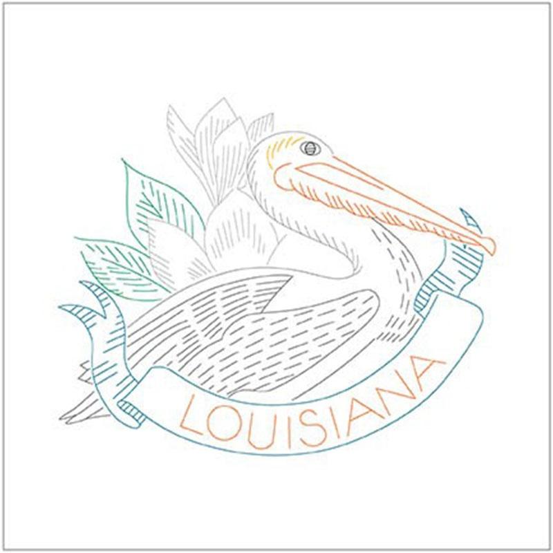 Birds of Liberty - Louisiana Digitally Printed Panel