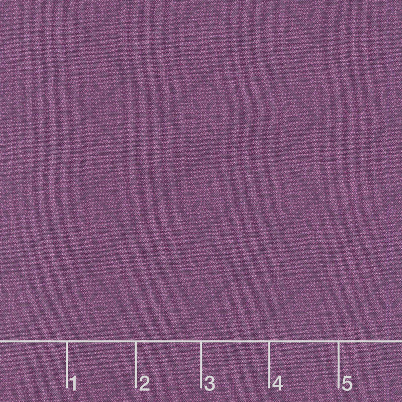 Hat Box - Diamond Flower Purple Yardage
