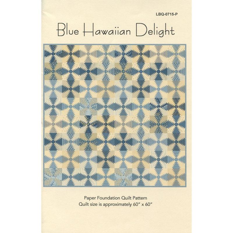 Blue Hawaiian Delight Pattern