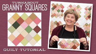 Turnabout Granny Squares Quilt Tutorial