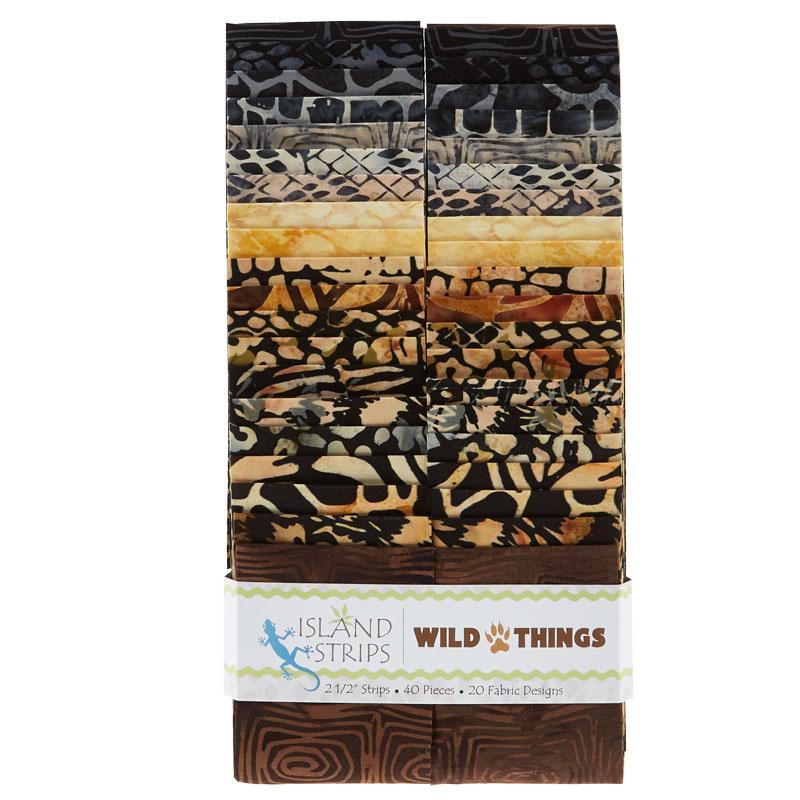 Wild Things Batiks Strips