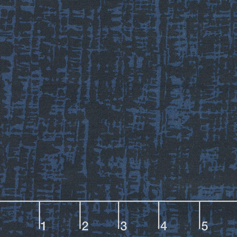 Top Drawer - Thatch Navy Yardage