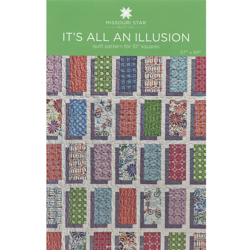 It's All An Illusion Pattern by MSQC - MSQC - MSQC — Missouri Star ... : missouri star quilt tutorials - Adamdwight.com