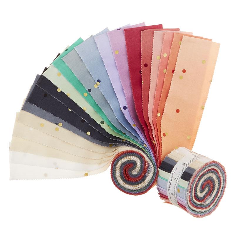 Ombre Confetti New Colors Metallic Junior Jelly Roll