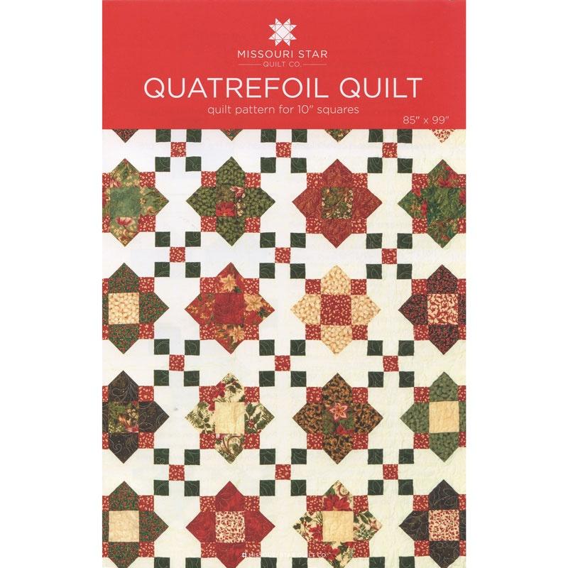 Quatrefoil Quilt Pattern by MSQC - MSQC - MSQC — Missouri Star ... : missouri quilt star - Adamdwight.com