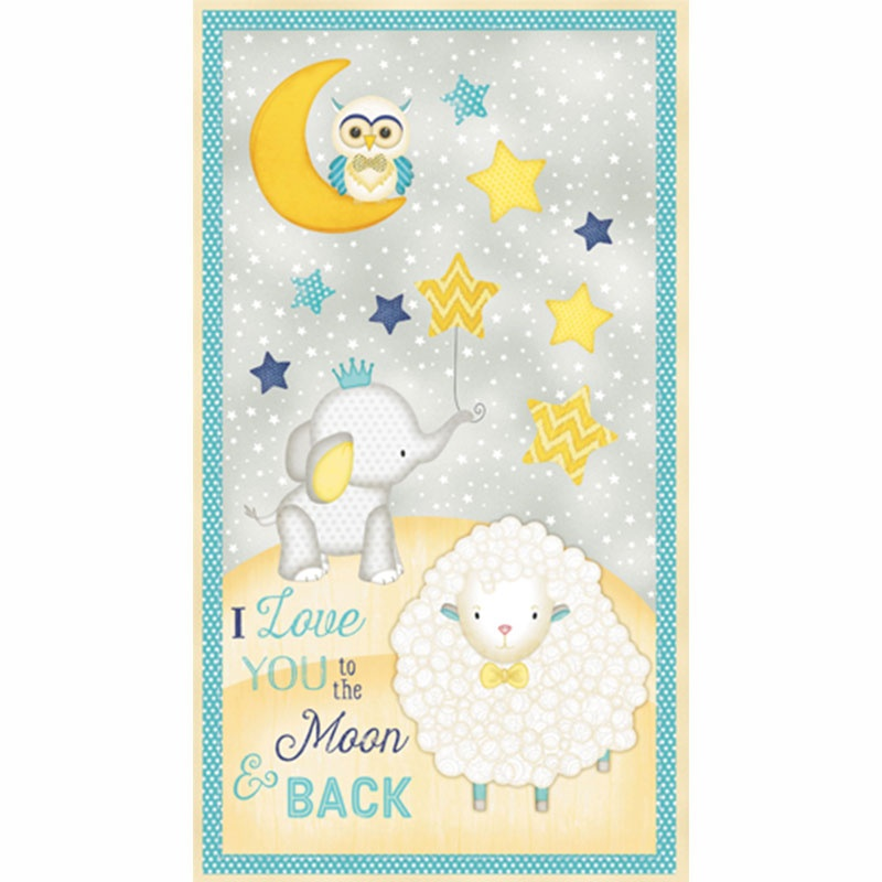 To the Moon & Back - Large Multi Panel