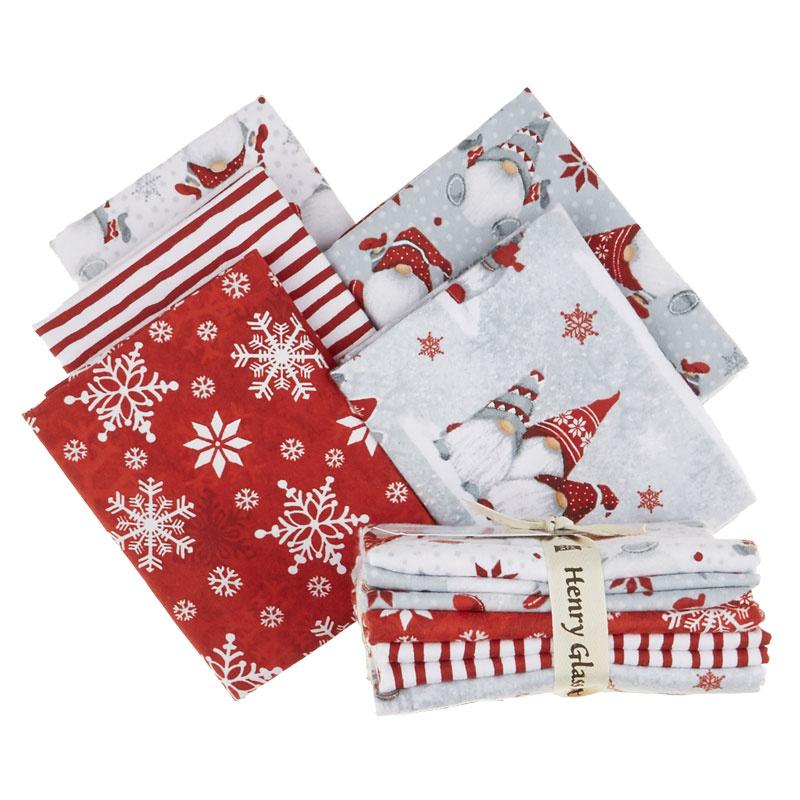 Winter Whimsy Flannel Fat Quarter Bundle