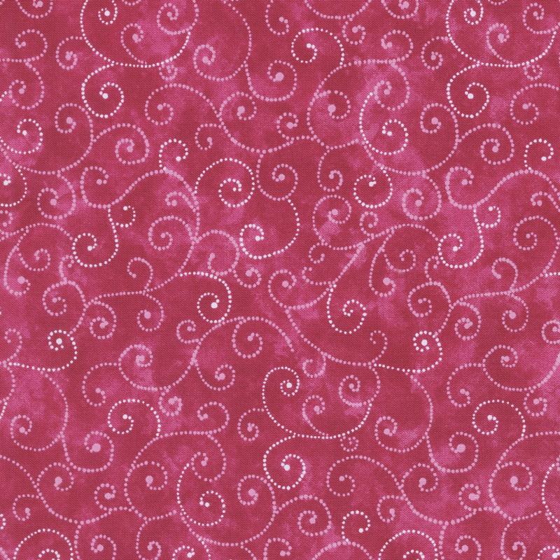 Moda Marble Swirls - Raspberry Yardage