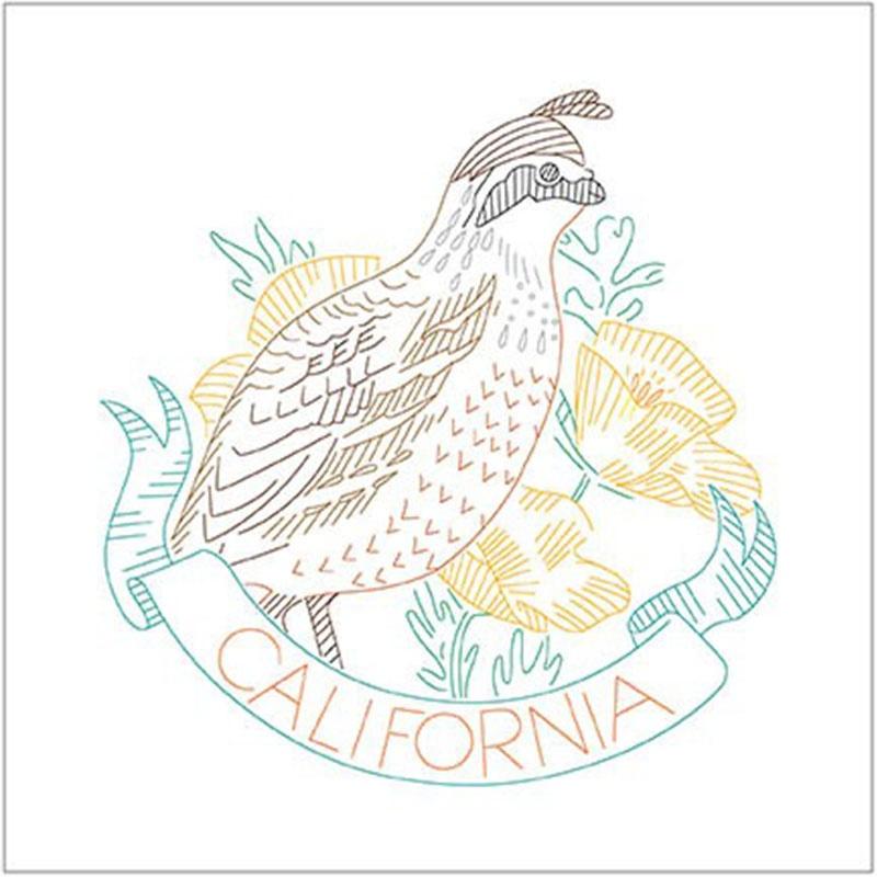 Birds of Liberty - California Digitally Printed Panel