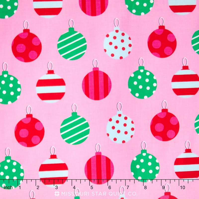 All the Trimmings - Hang the Ornaments Candy Yardage