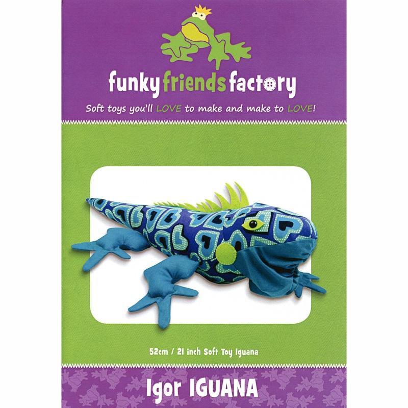 Igor Iguana Funky Friends Factory Pattern