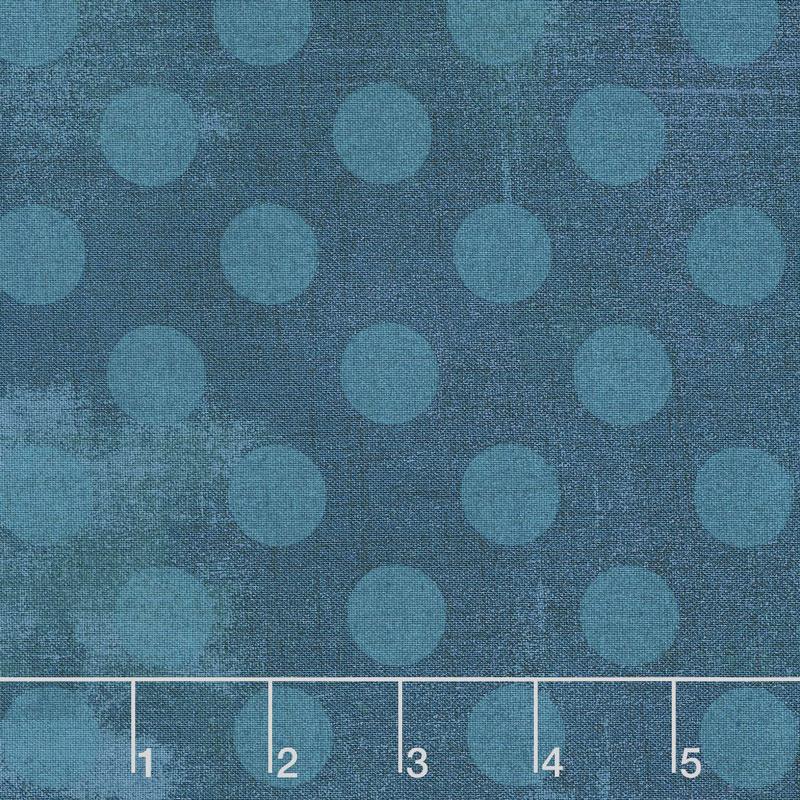 Grunge Hits the Spot - Prussian Blue Yardage