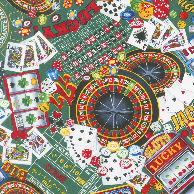 Novelty - Casino Fun Green Yardage