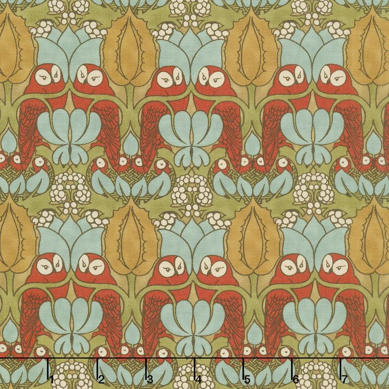 Voysey - The Owl 1897 Russet Yardage