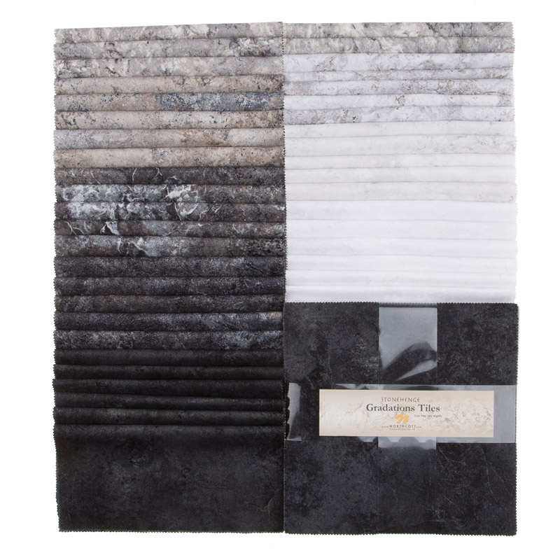 Stonehenge Gradations Graphite Tiles