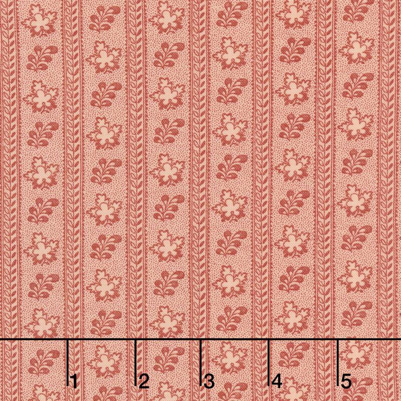 Harriet's Handwork 1820-1840 - Doffer Sweet Pink Yardage