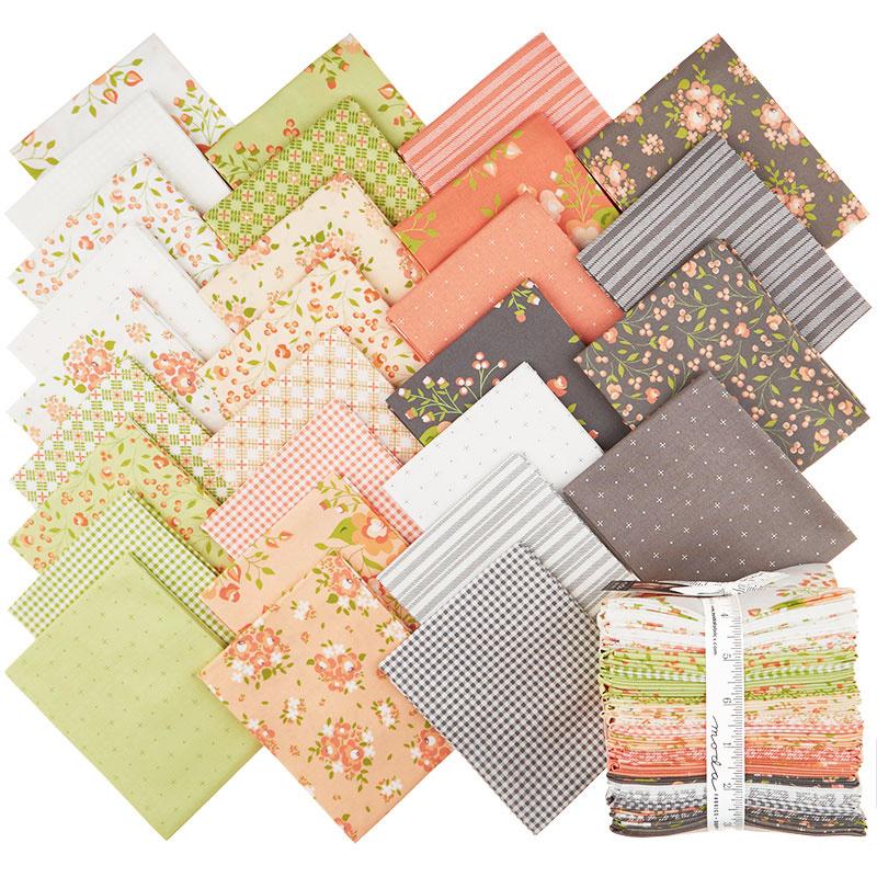 Apricot Ash Fat Quarter Bundle Corey Yoder Moda Fabrics,Crochet Beanie Pattern