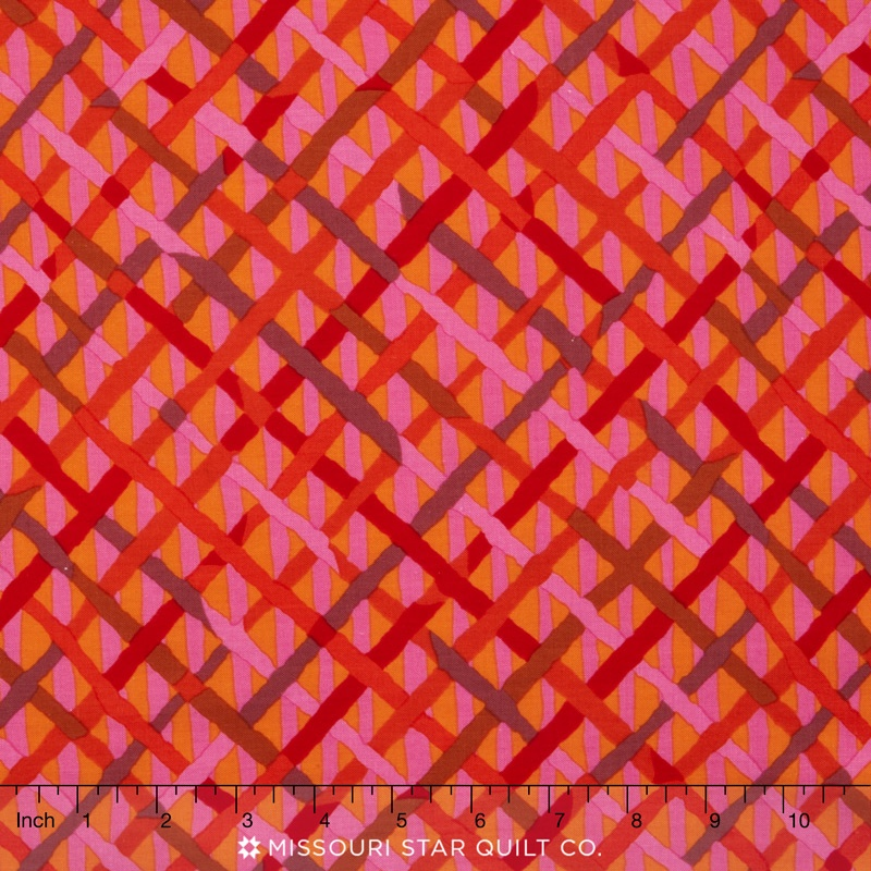 Kaffe Collective - Spicy Palette Mad Plaid Red Yardage