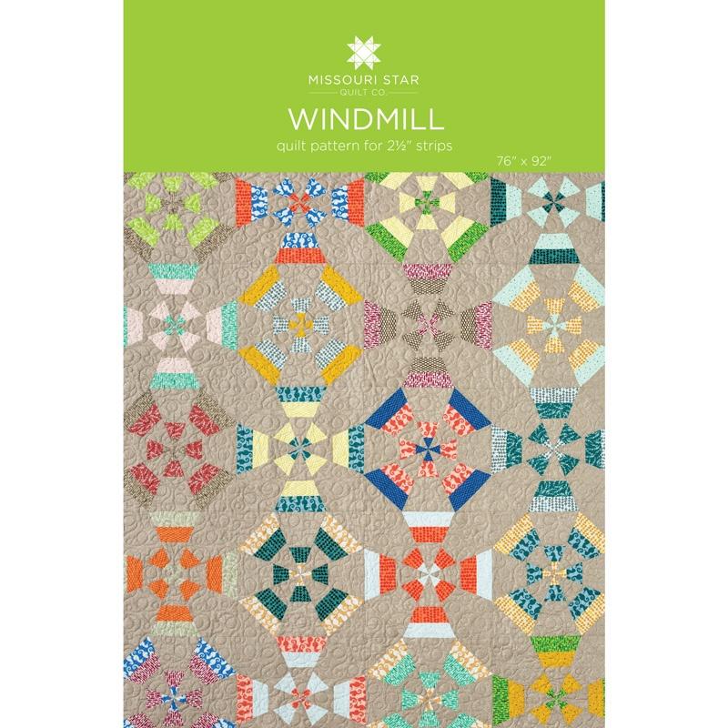 Windmill Quilt Pattern by MSQC - MSQC - MSQC Missouri Star Quilt Co.