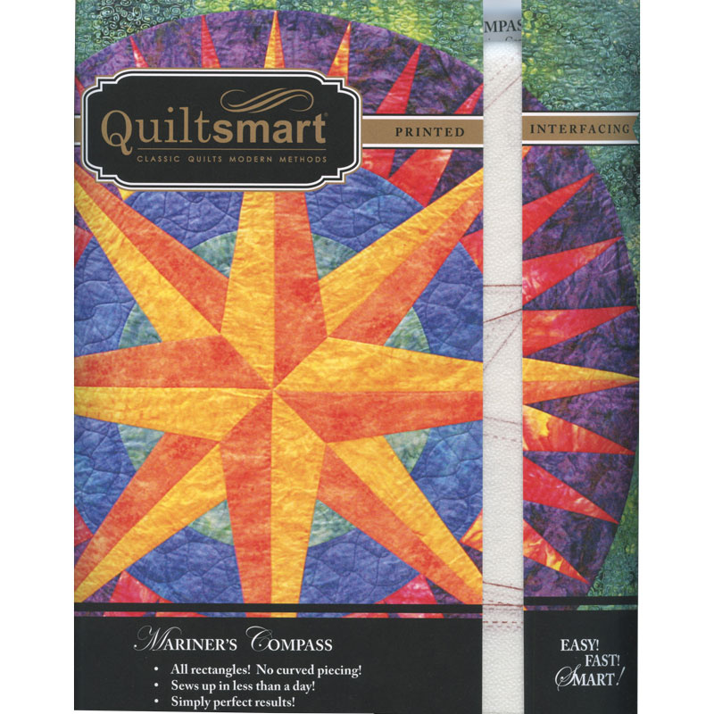 Quiltsmart® Mariner's Compass Pattern with Interfacing