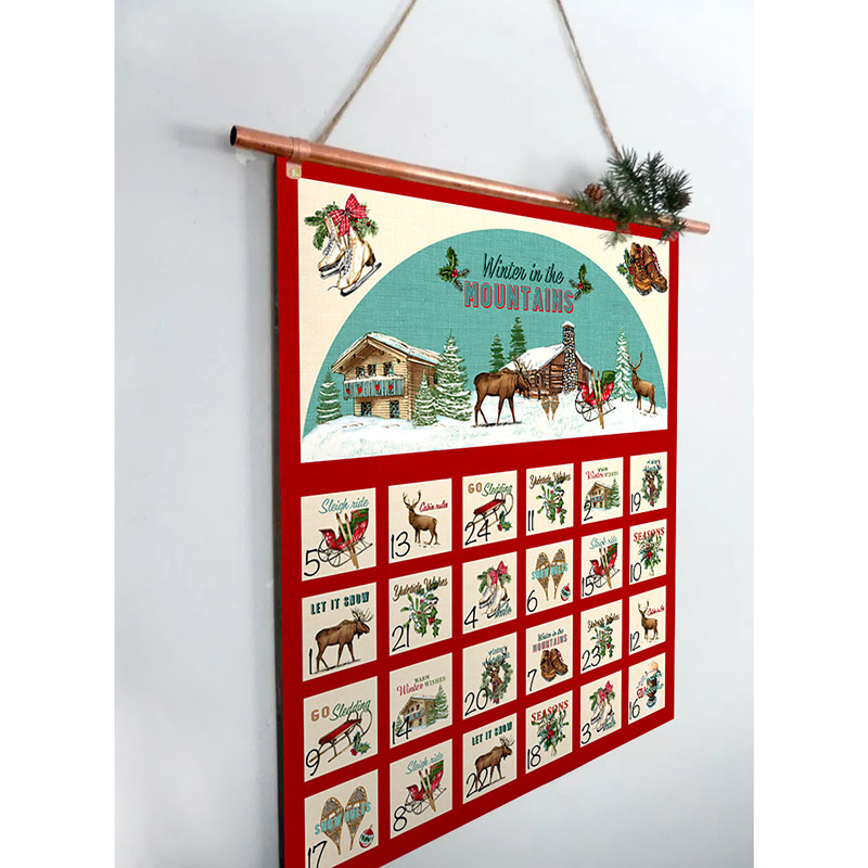 Spruce Mountain Advent Calendar Kit