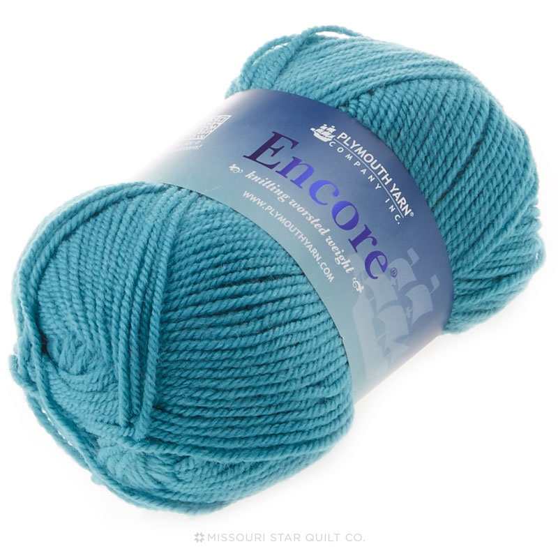 Encore Worsted Vacation Blues Yarn 100g
