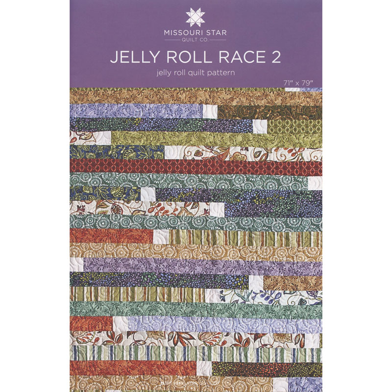 Jelly Roll Race 2 Quilt Pattern by MSQC - MSQC - MSQC — Missouri ... : jelly roll race quilt pattern - Adamdwight.com