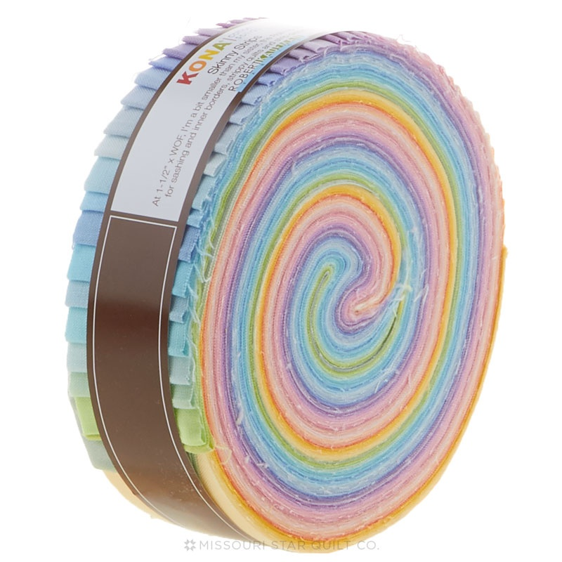 Kona Cotton - Pastel Palette Skinny Strips