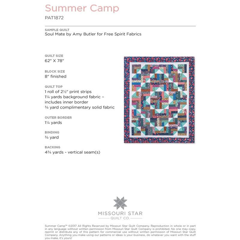 summer camp quilt