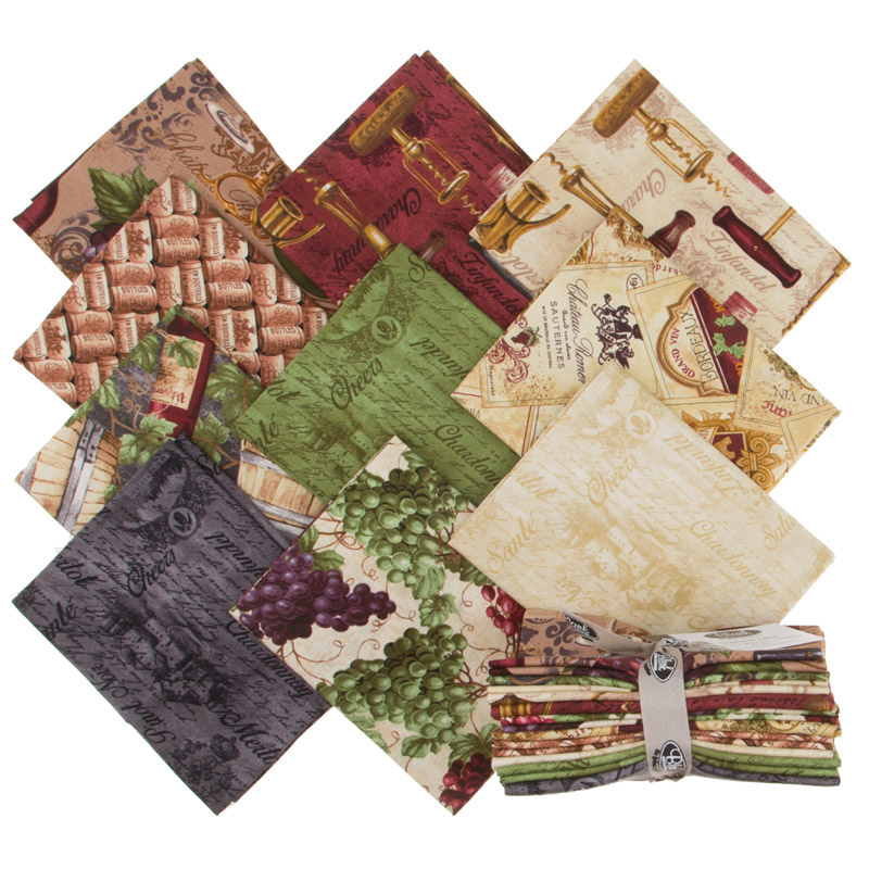 Vineyard Valley Fat Quarter Bundle