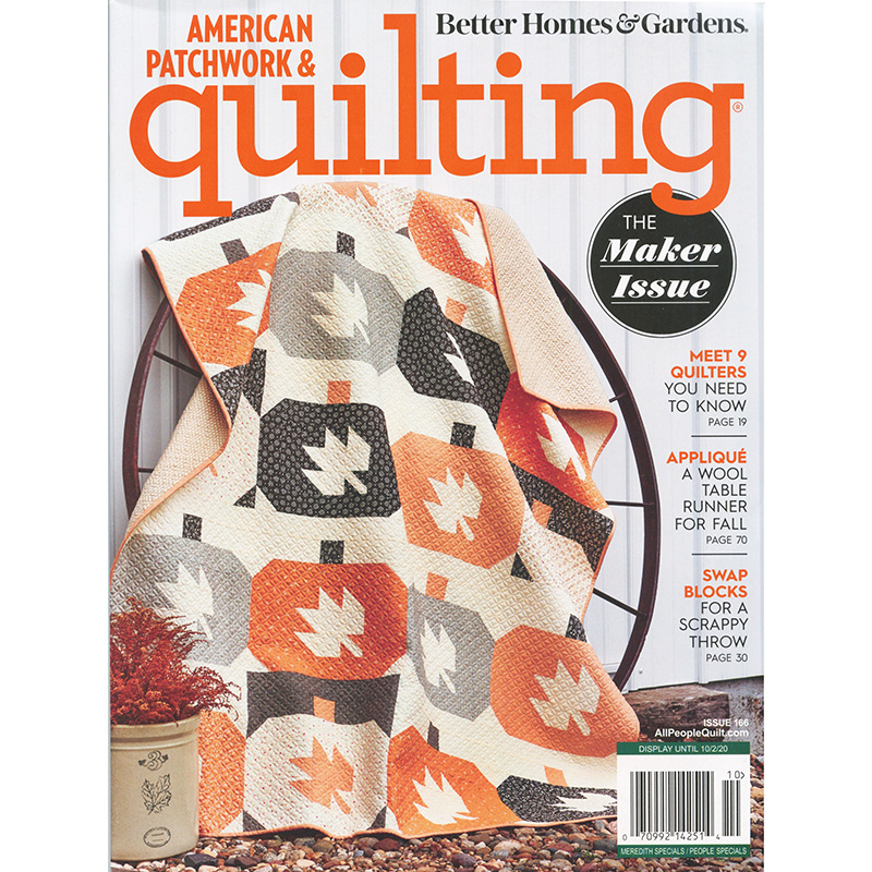 Better Homes & Gardens American Patchwork & Quilting October 2020