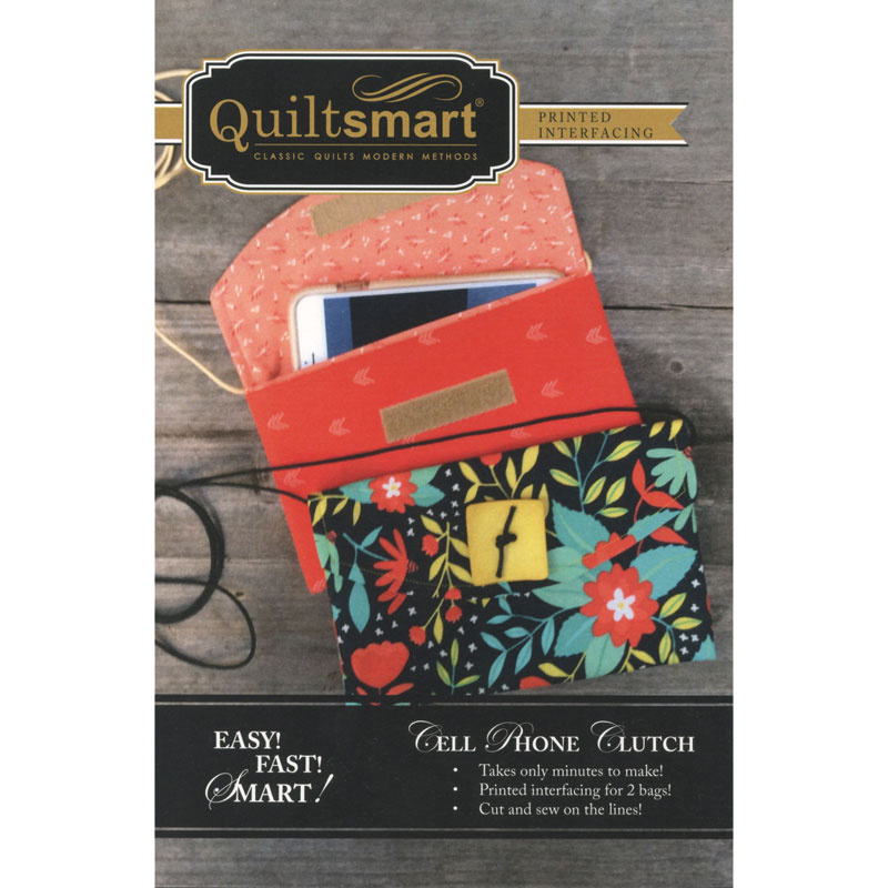 Quiltsmart® Cell Phone Clutch Fun Pack