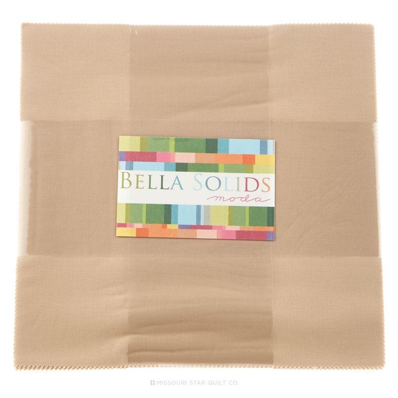 Bella Solids Tan Junior Layer Cake Moda Fabrics Moda