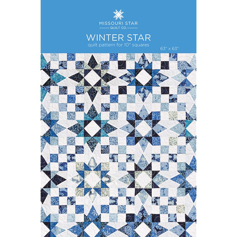 Winter Star Quilt Pattern By Missouri Star Missouri Star Quilt