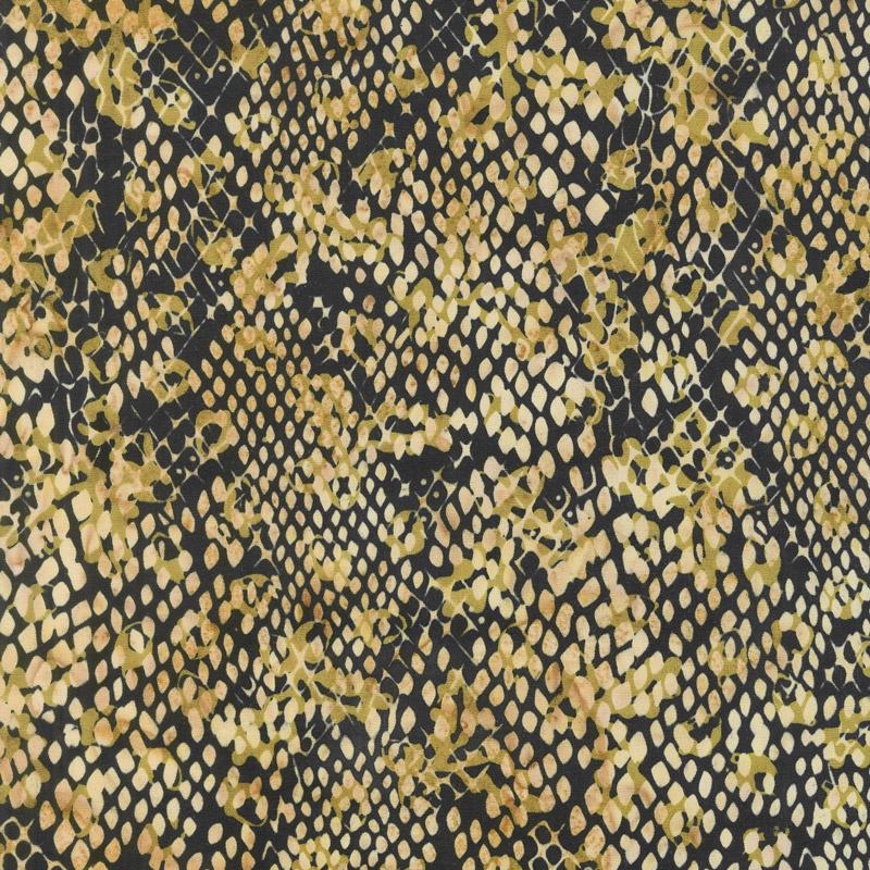 Wild Things Batiks - Snake Skin Smore Yardage