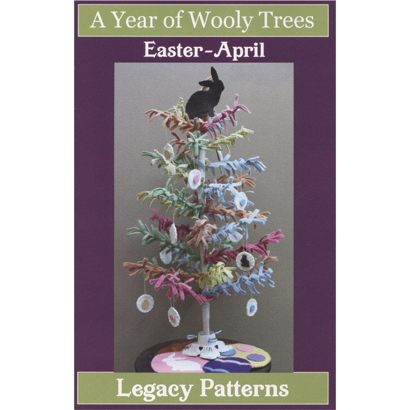 A Year of Wooly Trees Pattern - April Easter