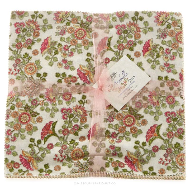 Arabella Green Layer Cake Benartex Fabrics Benartex