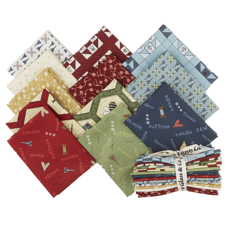 Home Sewn Fat Quarter Bundle