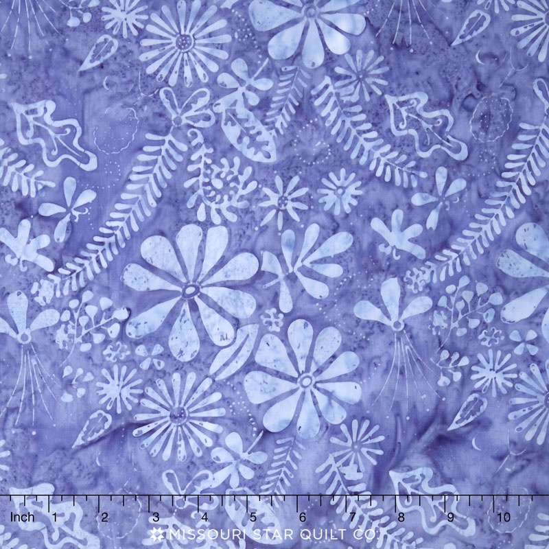 Latitude Batiks - Flora Sky Yardage