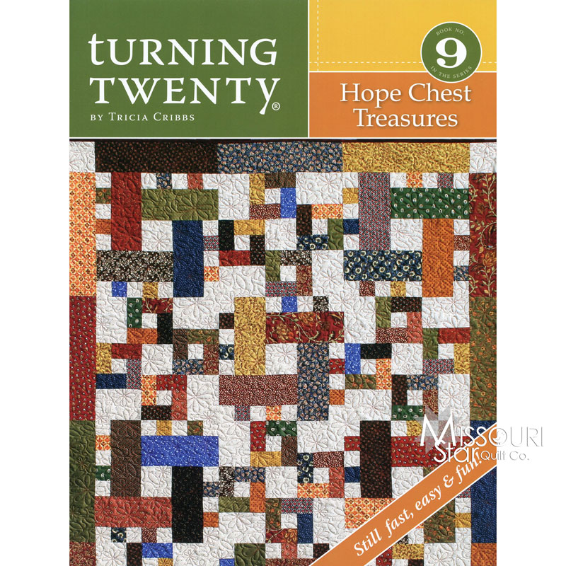 Turning Twenty Hope Chest Treasures Pattern Book - Tricia Cribbs ... : hope chest quilt - Adamdwight.com