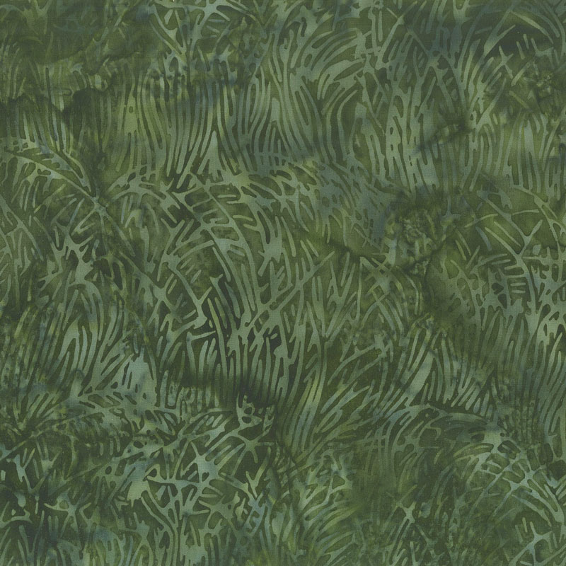 Brandywine Batiks - Grass Pineneedle Yardage