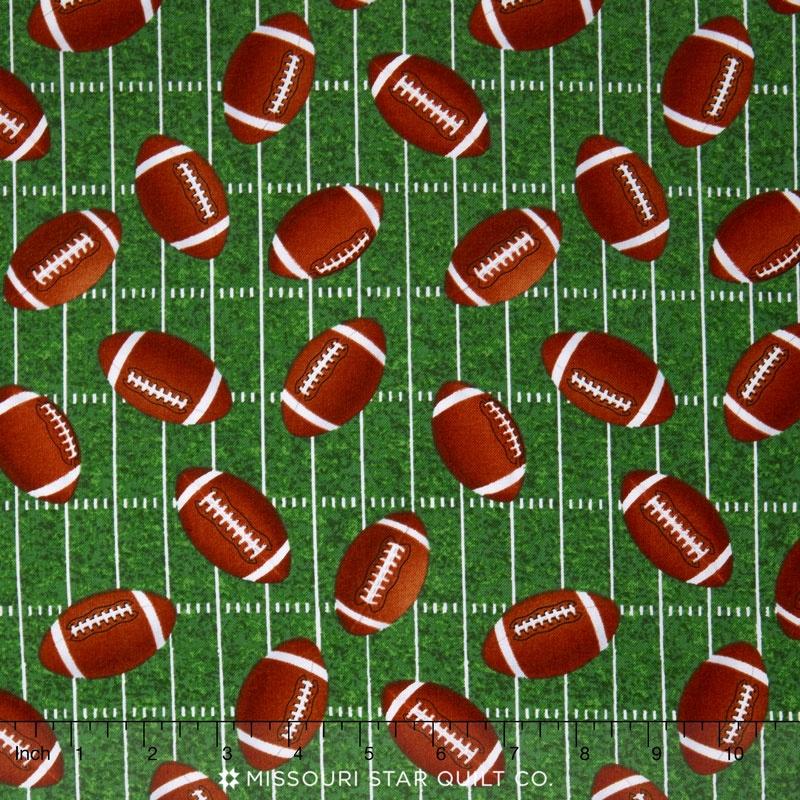Sports - Tossed Footballs Green Yardage
